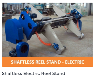 Shaftless Electric reelstand