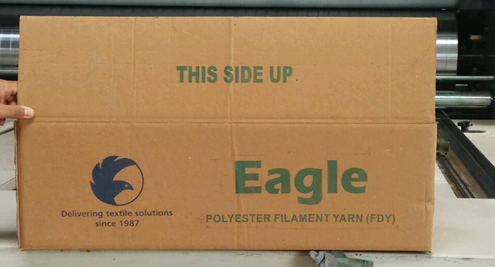 yarn corrugated box packaging | yarn packaging box